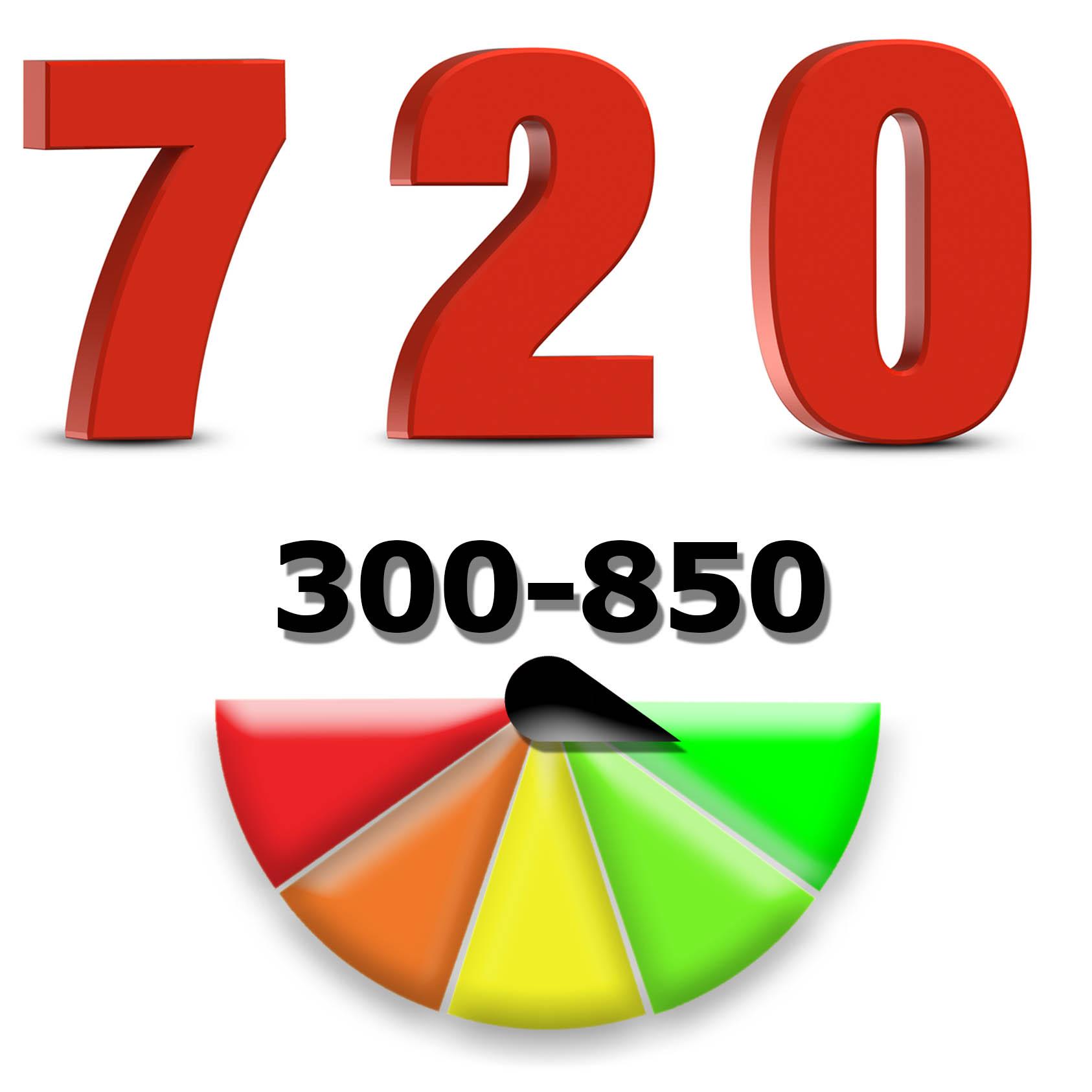 720 Credit Score >> 720 Score National Debt Law
